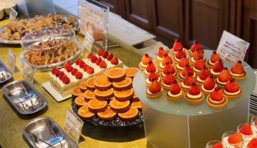 苺×和。いちごスイーツブッフェ『川崎日航ホテル』(1月)