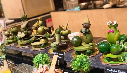 抹茶デザートブッフェ『ウェスティンホテル東京』(5月)