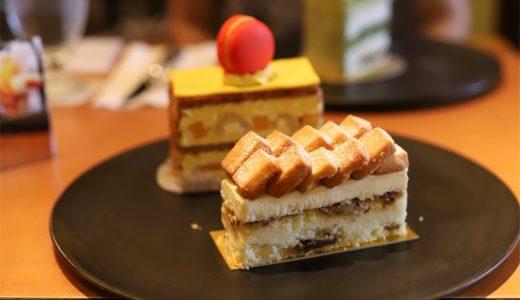 季節限定のマンゴーミルフィーユ!チーズケーキもオススメ。『ホテルニューオータニ』(7月)