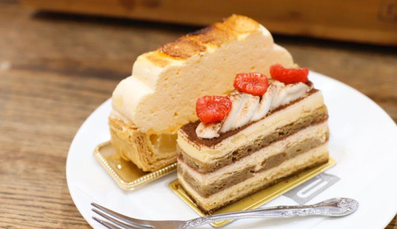 クラシカルなケーキ目当てに高幡不動へ『Patisserie du Chef FUJIU / パティスリー・ドゥ・シェフ・フジウ』(3月)