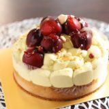 濃厚ピスタチオクリームと大粒チェリーが盛りだくさん!ピスタチオとチェリーのタルト『パティスリー リョーコ』(6月)