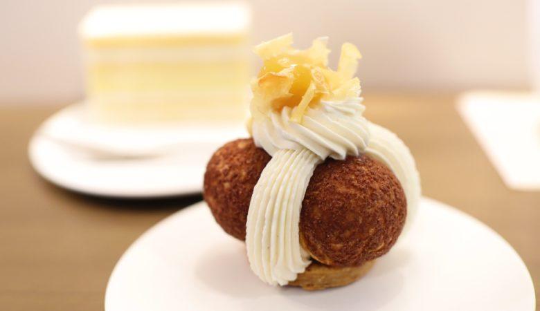 栗のサントノーレとバニラショートケーキ『LESS』(10月)