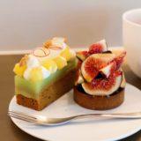 黒イチジクのタルトとキャロットケーキ『LESS』(10月)