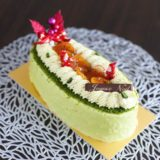 Noël  2020 第1弾!ピスタチオとアプリコットのクリスマスケーキ『Patisserie PARTAGE(パティスリー パクタージュ)』(12月)