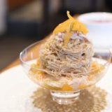 タルトタタンのパフェとモンブランなパフェ『EMMÉ(エンメ)』(12月)